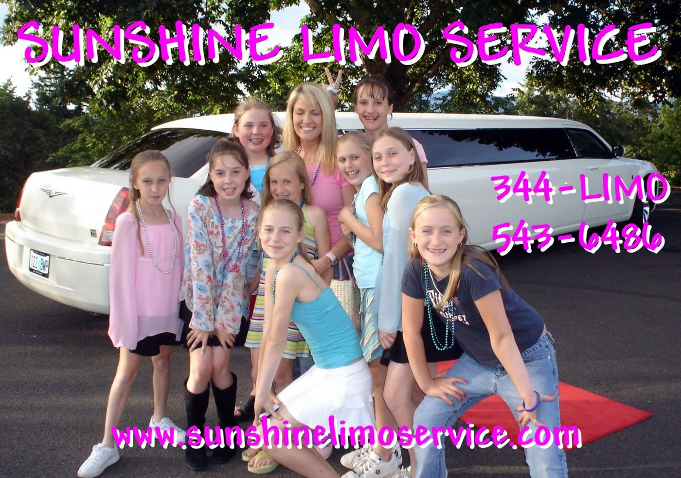 Limo Birthday Party