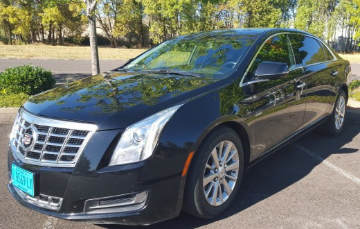 2015 Cadillac XTS-L Bandon Dunes Transportation/Eugene Airport Ground Transportation